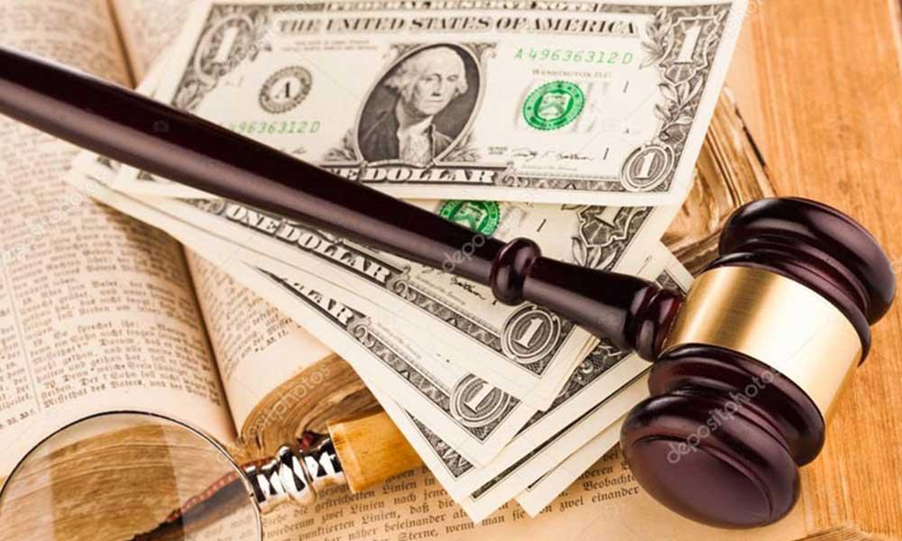 محکومیت های مالی