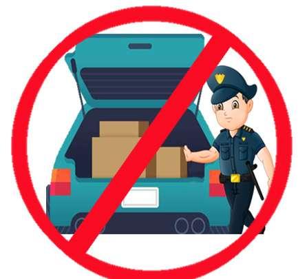 بازرسی خودرو توسط پلیس ممنوع است